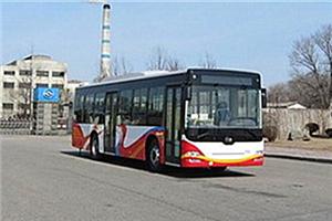 黄海DD6118公交车