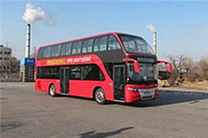 黄海DD6119双层公交车