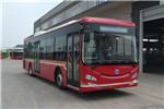 广西申龙HQK6128PHEVNG5插电式公交车(天然气/电混动国五19-33座)