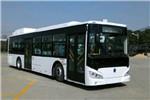 广西申龙HQK6129CHEVB插电式公交车(柴油/电混动国五19-45座)