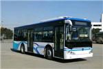 广西申龙HQK6109CHEVNG3插电式公交车(天然气/电混动国五17-33座)