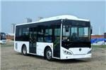 广西申龙HQK6859PHEVNG插电式公交车(天然气/电混动国五13-25座)