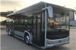 金龙XMQ6106AGBEVL34公交车(纯电动19-40座)