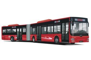 黄海DD6181公交车