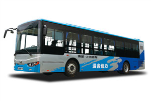 上饶SR6116混动公交车