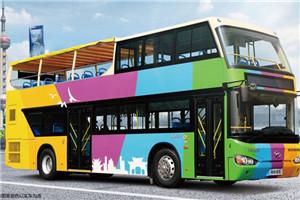 海格KLQ6119双层公交车