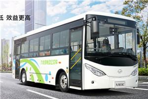 九龙E8系列HKL6801公交车