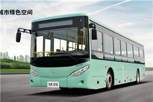 九龙E10公交车