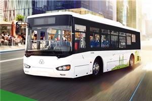 舒驰YTK6101GEV公交车
