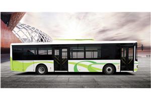 舒驰YTK6128GEV公交车