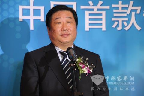 潍柴集团董事长谭旭光 谭旭光表示,我国节能减排任务繁重,...