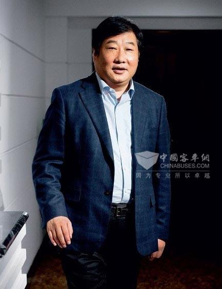 山东重工集团董事长谭旭光:潍柴积极开拓欧洲市场