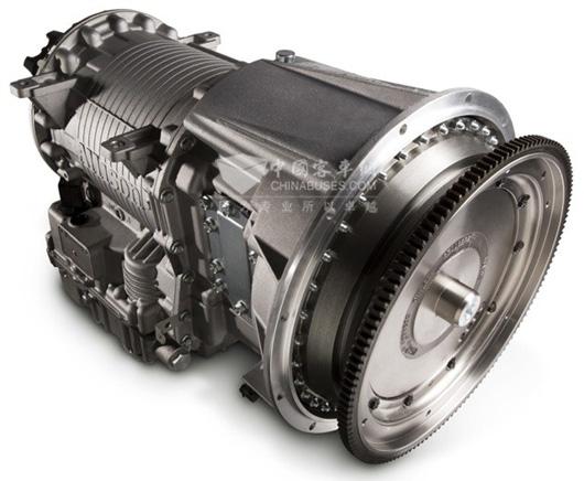 """艾里逊变速箱   艾里逊变速箱的ContinuousPowerTechnology(不间断动力技术)以及控制换挡点的先进电子技术,为运营商提高了生产力。第五代电子控制系统可提供预诊断功能,能够对变速箱内部零件进行实时评估,减少了不必要的停车,从而更好地制定保养计划。   艾里逊变速箱同时提供了取力器(PTO)接口装置,从车辆运转中的发动机上取力,使其高效地带动配套装置。   """"自2009年以来,艾里逊一直与布宜诺斯艾利斯的各环保公司合作,研发装配自动变速箱的卡车,在提高燃油效率和安全性的同时"""