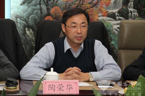 上海申龙客车行政总监 陶荣华