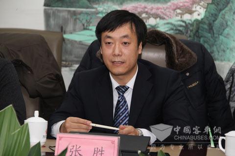 郑州宇通干部处处长、商用车人力资源部部长 张胜